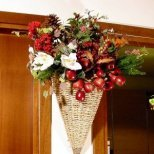 Лесни идеи за Коледна украса