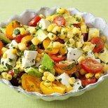 Лесни бързи салати за зимата