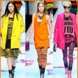 Модерните тенденции в цветовете пролет 2012 г.