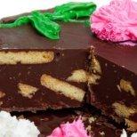 Бързи рецепти за торти с бисквити