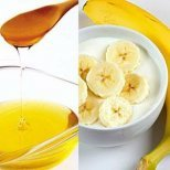 Маски от банан за лице
