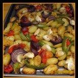 Как да печем зеленчуци и да станат вкусни