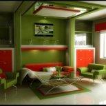 Идеи за дома в зелен цвят