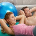Тренировки за отслабване на корема