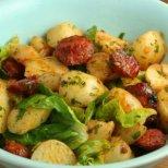 Бързи ястия с тиквички, или картофи