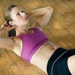 Упражнения за корем и дупе