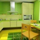 Зеленият цвят дава хармония в дома ни