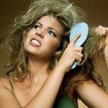Грижи за сухата коса