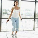 Кардио тренировка с въже