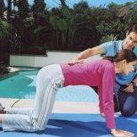 Упражнения за корем с каланетика