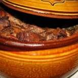 Празнична Капама с вино и кървавица