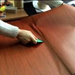 Как се лепи фолио на мебели