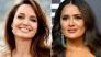 Анджелина Джоли честити РД на Салма Хайек:
