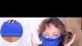 Лесна маска от плат без шиене