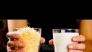 Кашкавалени питки на тиган със салам: