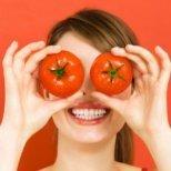 Видове маски за лице с домати