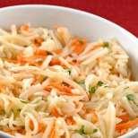 Зимна салата с моркови и ряпа