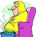 Рецептите на баба при запушен нос