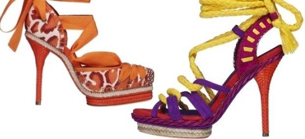 Обувките на Christian Dior за пролет-лято 2011