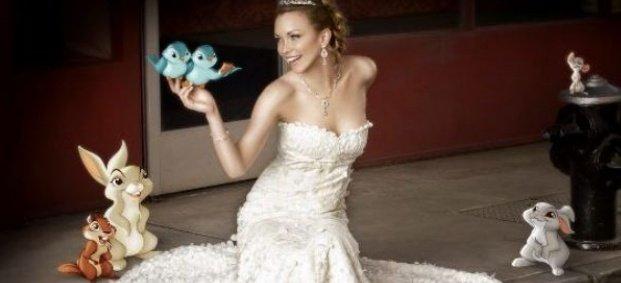 Сватбени рокли от Дисни