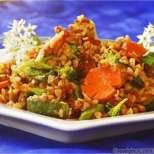 Елда (гречка) със зеленчуци