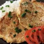Лесен омлет с риба тон