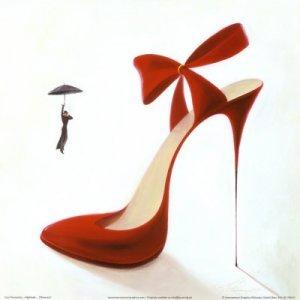 Любовта на жените към високите токчета
