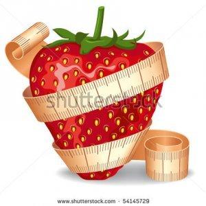 Четиридневна диета с ягоди 3 кг.