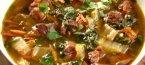 Бърза пилешка супа в тиган