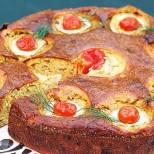 Вместо да ядете обикновени пържени тиквички, превърнете ги в тази изумителна на вид и вкус торта