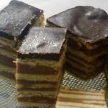 Унгарска Маджарица - нежни блатове, слепени със сочен шоколадов крем и перфектна глазура