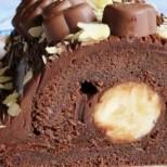 Магически вкус на шоколад, който се топи в устата - какво повече му трябва на човек: Шоколадово руло с банан