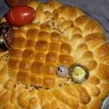 Великденска царска погача - достойна да украси всяка празнична трапеза