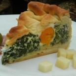 Солена великденска торта със спанак и сирене - опитайте нещо различно и оригинално за празника