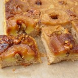 Най-лесният и вкусен обърнат сладкиш с ябълки