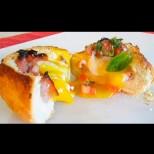Признавам, откраднах рецептата от комшийката. Но беше толкова вкусно, че ги правя вече трети ден - маниашки яйца в хлебче!