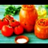Айвар от домати, патладжан и чушки