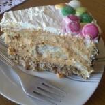 Захарно сладка и нежно карамелена - торта с крем от кроасани