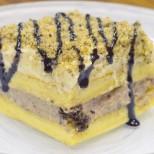 Видео-рецепта: Вижте как лесно да направите супер торта от домашен крем, ядки и шоколад