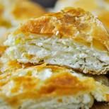 Глезена баница с три вида сирене - вкус и аромат, който ще помните с дни!