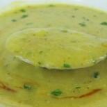 Лека, нежна и освежаваща - диетична крем супа с тиквички
