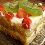 Безкрайно свежо, сочно и вкусно: Супер Тирамису с ягоди и киви