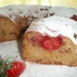 Чудно мекичко и ароматно - ягодово кексче с плодово кисело мляко