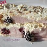 Непечена крем торта с целувки - нежност и съвършенство, каквито не сте вкусвали!