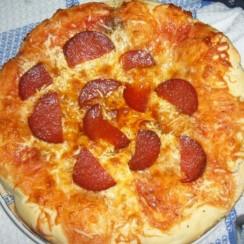 Пица Бирено коремче - лесна и бърза, чудесно допълнение към футболния мач!