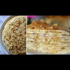 Не е просто вкусна: феноменална е! Хем торта, хем баклава, хем с палачинки - ядеш и копнееш за още!