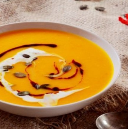 Крем супа от тиква- перфектния избор за студена зимна вечер