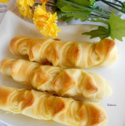 Кръцкани кавал-кифлички с масло
