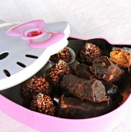 Истински афродизиак от Ориента - шоколадова баклава на хапки