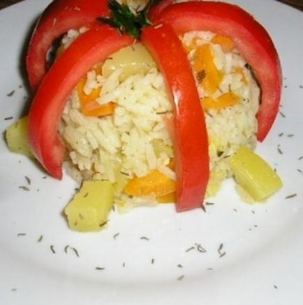 Идеални за бърза вечеря или обяд в топлото време - тиквички с ориз на котлон